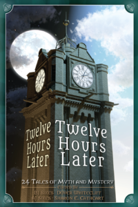 cover of steampunk anthology Twelve Hours Later